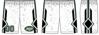 Picture of Jets Custom sublimated  Shorts