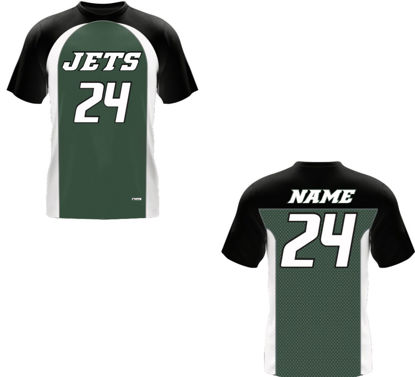 Picture of Jets Custom sublimated  Shirt