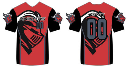 Picture of Knights Custom sublimated  Shirt