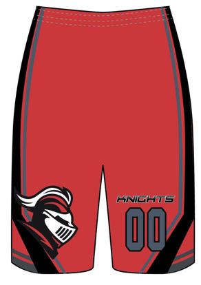Picture of Knights Girls Custom sublimated  Shorts
